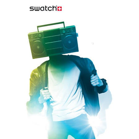 Swatch Pop-up Radio